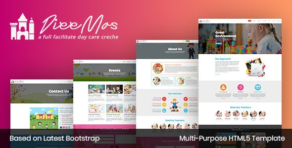 Diee Mas - HTML Template - Site Templates