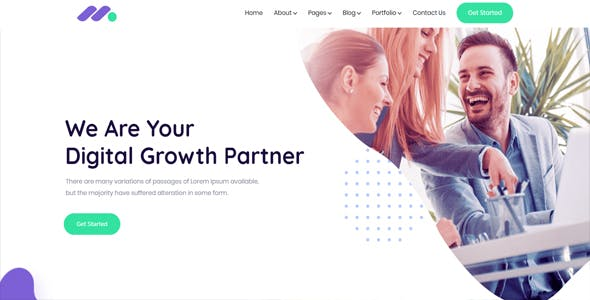 Markethon - SEO & Digital Marketing Agency Portfolio WordPress Theme