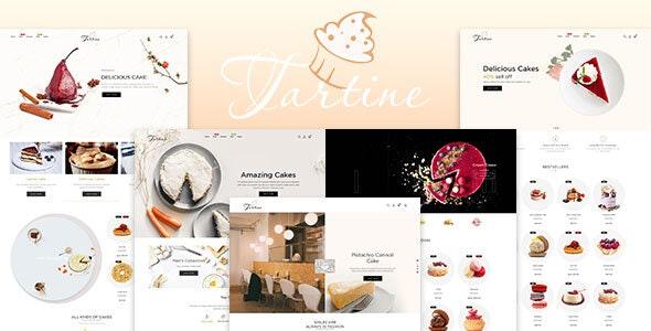 Tartine - Cake & Bakery Responsive Shopify Theme - Shopify eCommerce