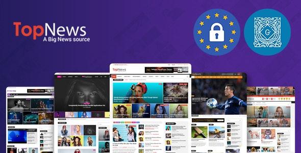 TopNews - News Magazine Newspaper Blog Viral & Buzz WordPress Theme - News / Editorial Blog / Magazine