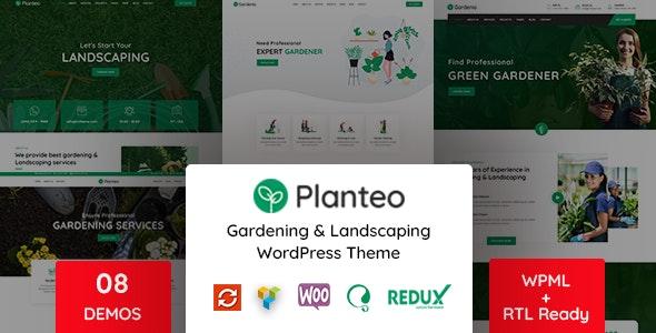 Planteo Theme Preview