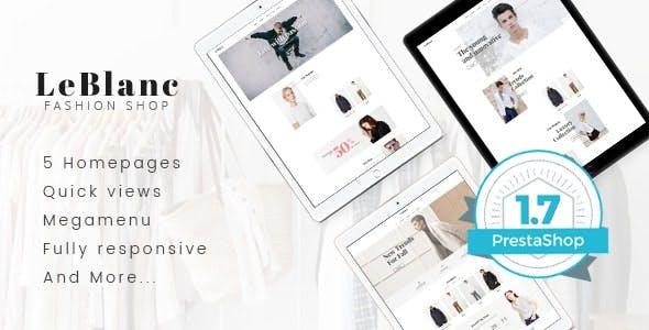Leo Leblanc Responsive Prestashop Theme for Clothes Fashion