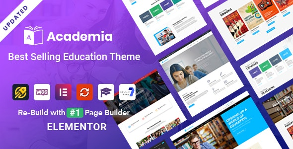 Academia - Education WordPress Theme - Education WordPress