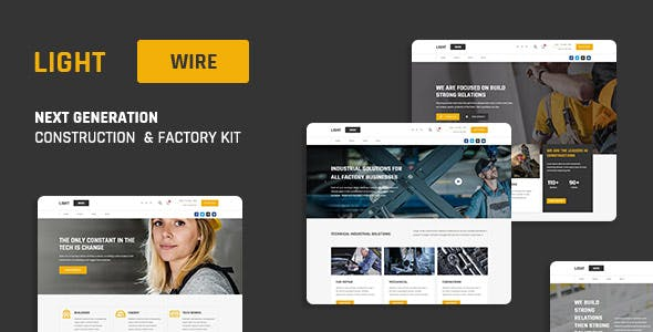 Lightwire - Construction And Industry Kit