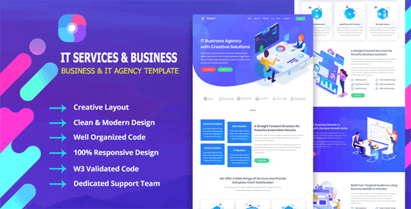 Razzon - IT Startup Agency & Business Template
