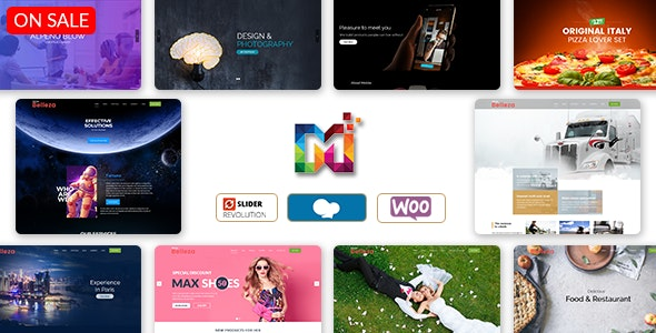 Belleza - Multi-Purpose Responsive WordPress Theme - WordPress