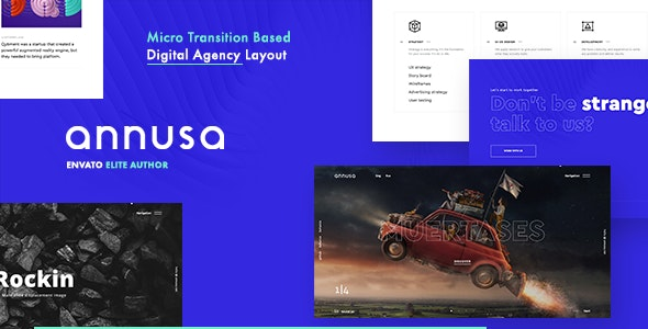Annusa | Modern Digital Bakery WordPress Theme - Portfolio Creative