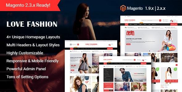 Love Fashion - Responsive Magento 2 Store Theme - Fashion Magento