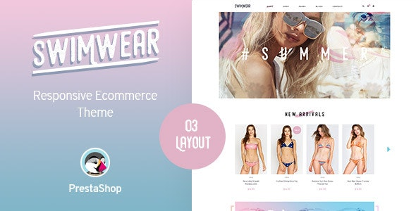 Leo Swimwear - Prestashop Fashion  Store Theme - Fashion PrestaShop