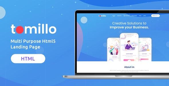 Tomillo | Multi Purpose Html5 Landing Page - Site Templates
