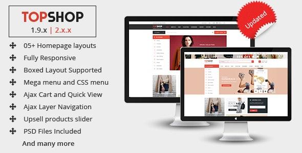 Topshop - Premium Multipurpose Magento 2 and 1.9 Theme - Shopping Magento