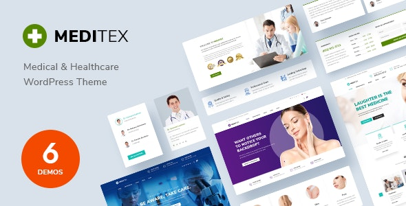 Meditex - Dental & Medical WordPress Theme - Health & Beauty Retail