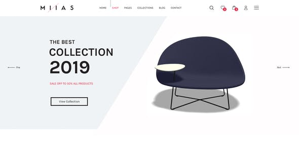 MIIAS - Furniture Bootstrap 4 Reaponsive HTML5 Template