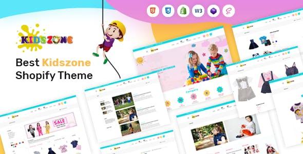 Kids zone - Baby Fashion & Toys Store Shopify Theme