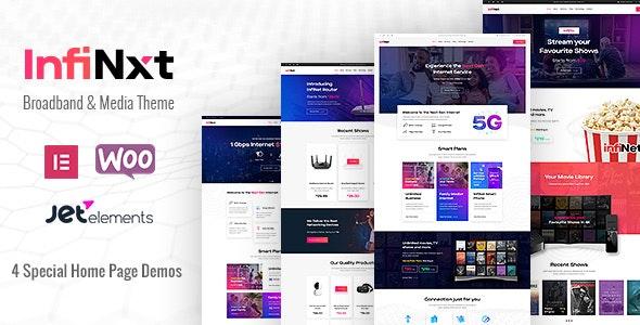 InfiNxt | Satellite TV, Internet Service Provider WordPress Theme - Technology WordPress