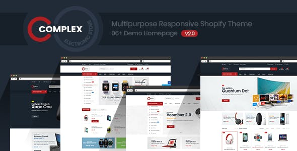 Complex - Multi-Purpose Responsive Shopify Theme