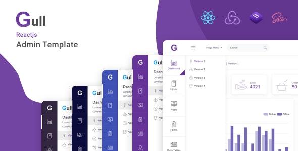 Gull - React Bootstrap 5 Admin Dashboard Template - Admin Templates Site Templates