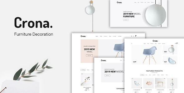Crona | Furniture Decoration WooCommerce WordPress Theme - WooCommerce eCommerce