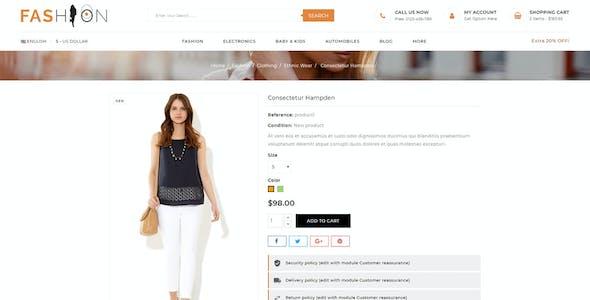 Fashion - Prestashop 1.7 Responsive Theme