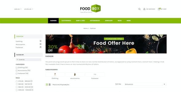 Food Box - Multipurpose Prestashop 1.7 Responsive Theme