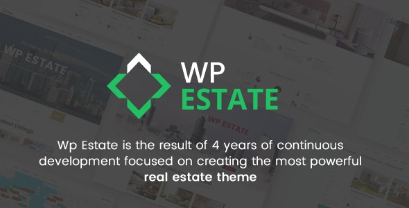 WpEstate Real Estate WordPress Theme - Real Estate WordPress