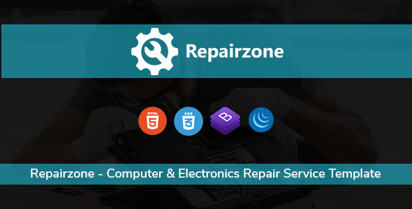 Repairzone - Computer & Electronics Repair Service Template - Computer Technology