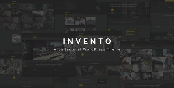 Invento | Architecture Agency Theme - Business Corporate