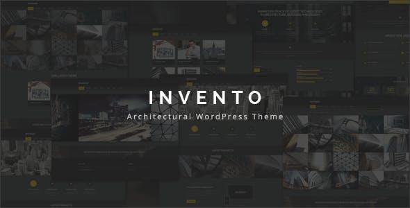 Invento | Architecture Agency Theme