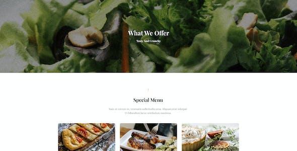 Especio - Food Blog Elementor Template Kit