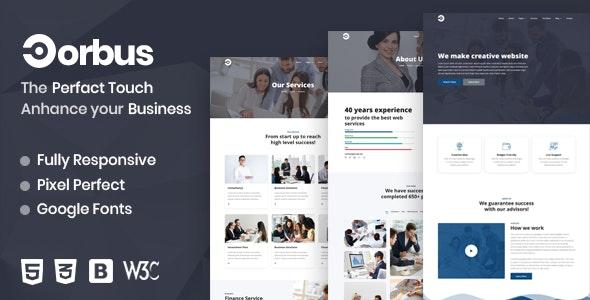 Corbus   Corporate Business Template - Business Corporate