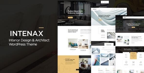 Intenax - Architecture WordPress Theme - Business Corporate