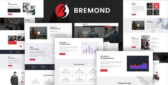 Bremond - Multipurpose Business Consulting WordPress Theme - Business Corporate