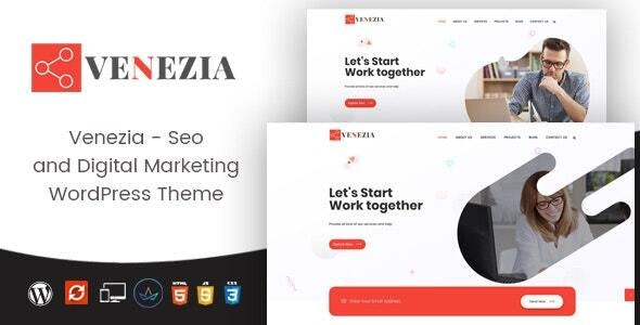 Venezia - Digital Marketing WordPress Theme - Portfolio Creative