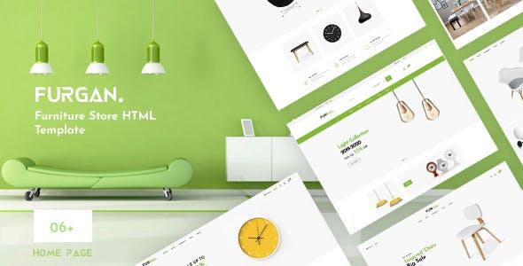 Furgan - Furniture Store HTML Template
