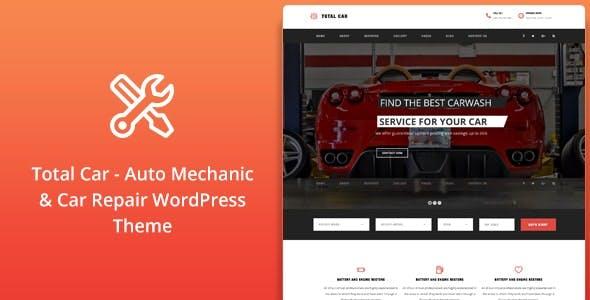 Total Car    Auto Mechanic & Car Repair WordPress Theme