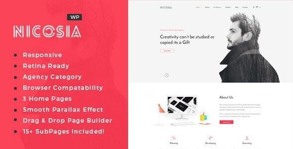 Nicosia - Online Marketing Agency WordPress Theme - Marketing Corporate