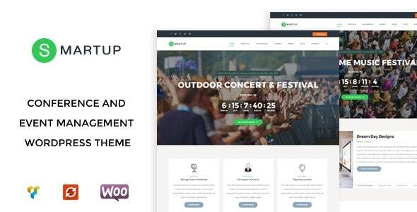 Smart Up - Conference & Event Management WordPress Theme - Events Entertainment
