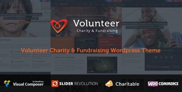 Volunteer - Charity/Fundraising WordPress Theme - Charity Nonprofit