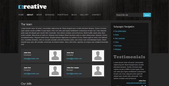 Creative WordPress Theme - 9 in 1