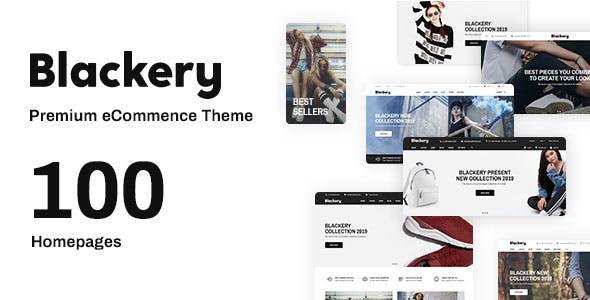 Blackery - Multipurpose Responsive Shopify Theme