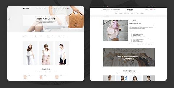 Yoriver - Multipurpose Responsive Shopify Theme