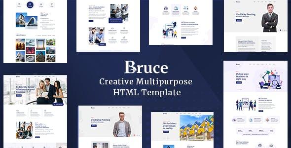 Bruce - Creative Multipurpose HTML Template