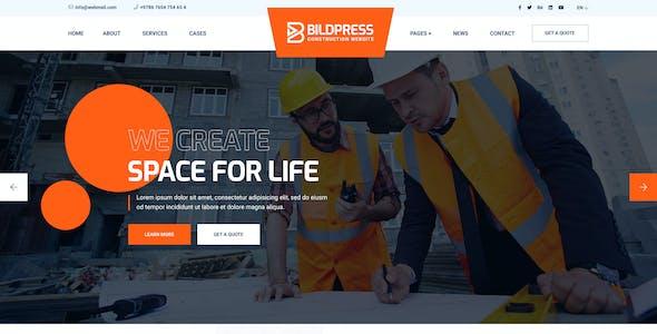 BildPress - Mutil-Concept Construction PSD Template