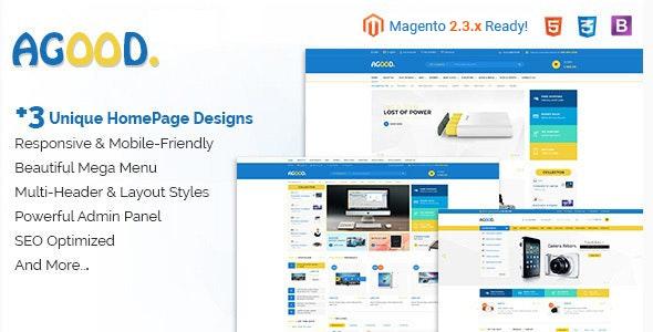 Agood - Responsive Multipurpose Magento 2 Theme - Shopping Magento