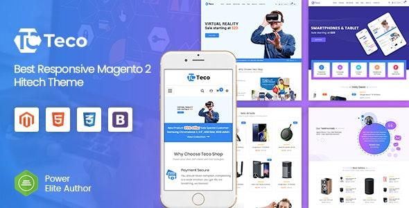 Teco - Responsive Hitech/Digital Magento 2 Store Theme - Shopping Magento