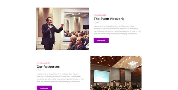 Confence - Event & Conference Elementor Template Kit