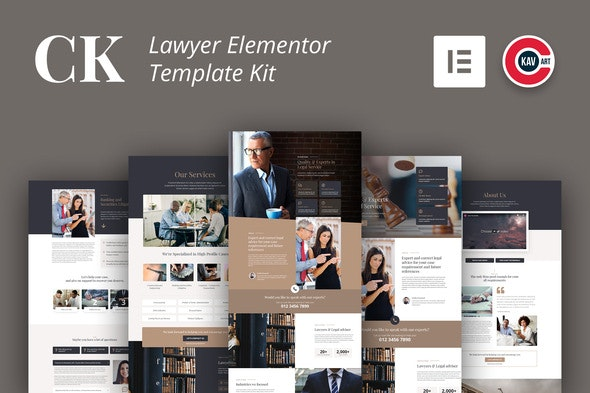 CK - Lawyer Template Kit - Template Kits