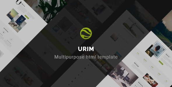 Urim | Creative Multipurpose HTML Template - Creative Site Templates