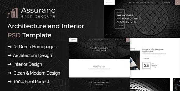 Assuranc - Architecture & Interior PSD Template - Art Creative