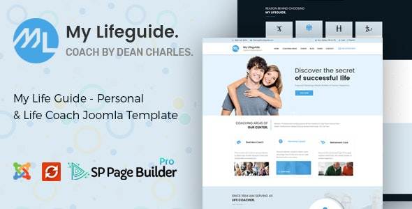 LifeGuide - Personal and Life Coach Joomla Template - Health & Beauty Retail